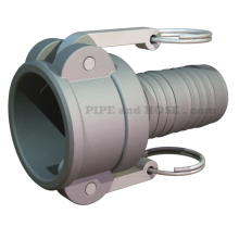 Fitting, Pipe, Hose, Cam & Groove, Hose Barb