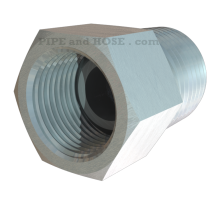 Fitting, Pipe, Tubing, Adapter, Inverted Flare, NPT
